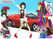 Click to Play Car Girl Fashion