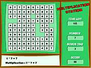 Click to Play Multiplication Station