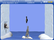 Click to Play Yeti Sports (Part 3) - Seal Bounce