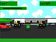 Click to Play 3D Frogger