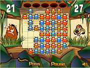 Click to Play Timon and Pumbaa's Bug Trapper