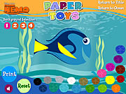 Click to Play Finding Nemo - Paper Toys