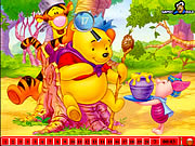 Click to Play Hidden Numbers - Winnie The Pooh