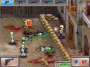 Click to Play GUNROX - Zombietown
