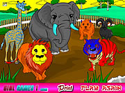 Click to Play Zoo Coloring Game