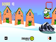 Click to Play Santa Snowboarding