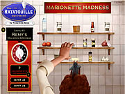 Click to Play Ratatouille - Marionette Madness