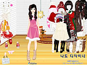 Click to Play Sweet Holiday Girl