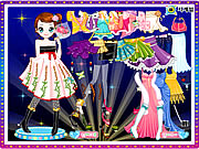 Click to Play Kim Dancer Dressup