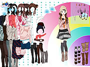 Click to Play Rainbow Dressup 3