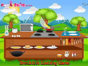 Click to Play Breakfast Cooking Game