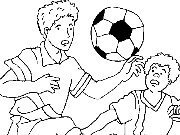 Click to Play Coloring Football - Soccer - 1