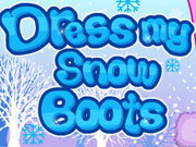 Click to Play Dress My Snow Boots