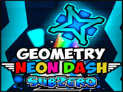 Click to Play Geometry Neon Dash Subzero
