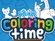 Click to Play Hello Kids Coloring Time