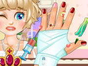 Click to Play Princess Hand Doctor