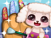 Click to Play Puppy Nail Salon